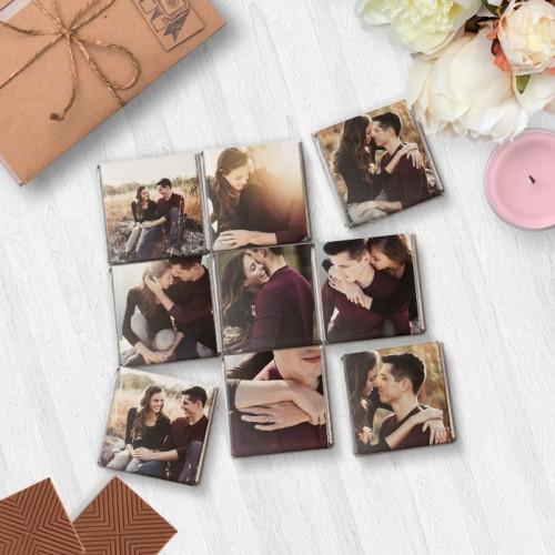 """Шоколадный набор """"Кватро"""" с фотографиями"""